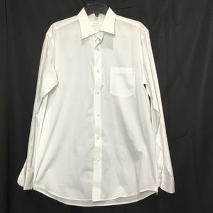 Adolfo Cotton-Poly Blend Dress Shirt (C9)